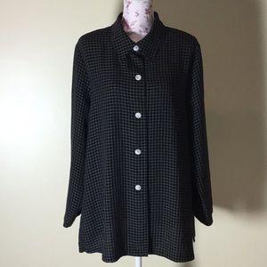 Connie Howard Black & White Jacket - Size 1X